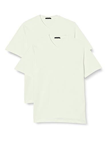 Schiesser Herren Unterhemd 2 er Pack 008151-100, Gr. 7 (XL), Weiß (100-weiss)
