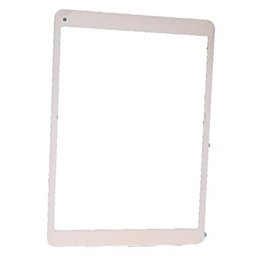 Pantalla táctil 9.7'Pulgada Archos 97C Platinum Tablet Piezas táctiles para el reemplazo del Sensor del digitalizador del Panel (Color : White)
