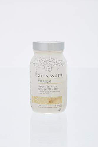 Zita West Vitafem | Female Fertility Supplement | 60 Capsules (1 Month Supply)