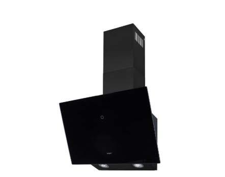 Exquisit KFD 60-8 Dunstabzugshaube, schwarz/silber