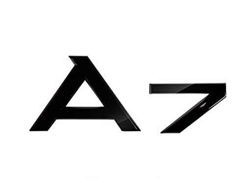 JZYLOVE Accesorios de Ajuste automático Etiqueta de Etiqueta del automóvil Audi A3...