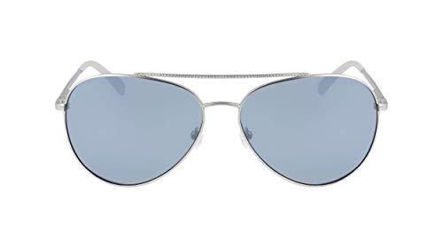 Nautica Herren N4647SP Sonnenbrille, Matte Silver, Einheitsgröße