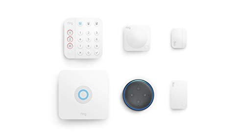 Ring Alarm 5-piece kit (2nd Gen) with Echo Dot (Electronics)