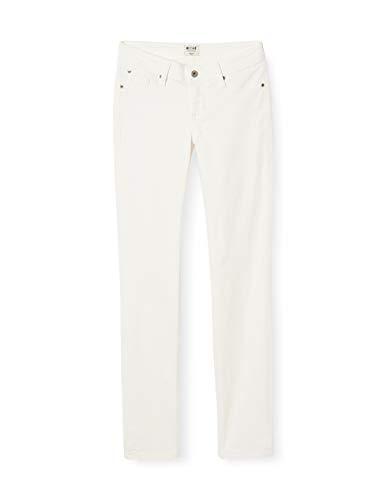 MUSTANG Damen Jasmin Slim Jeans, Beige Cloud Dancer 2020, 40 (Herstellergröße: 30/32)