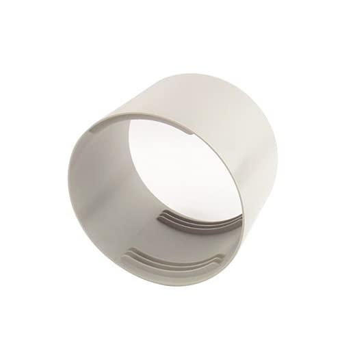 Abluftschlauch Verbindungsstück - ∅150 mm | ∅130 mm ABS-Kunststoff, Rohrverbinder für Schlauch Klimaanlagen - Wäschetrockner - Abzugshaube - Mobile Klimageräte(Ohne Abluftschlauch)