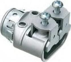 Arlington SG3838AST AC/MC/Flex Connector, Duplex, Saddle Type, 3/8