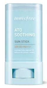[Innisfree] Ato Soothing Sun Stick 20g SPF50 PA++++