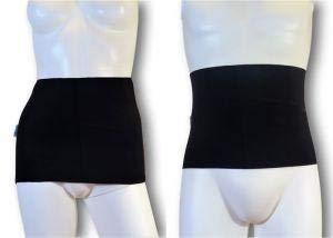 Faja de Ostomia para el día a día Art. GLICO SEC - Para Mujeres - Talla 6 (101-110 cm. cod.06) Negro