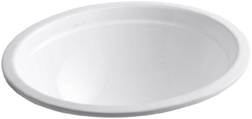 KOHLER K-2319-0 Bancroft Undercounter Lavatory, White