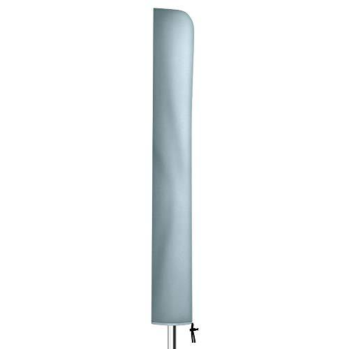 Flashbee Ampelschirm Schutzhülle,136cm Sonnenschirm Schutzhülle,Wasserdichte Gürtel Reißverschluss Schirmhülle(420DOxford Stoff,Grau,136*23*25cm)