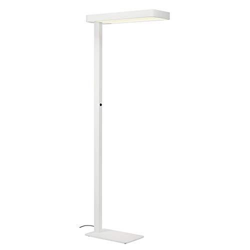 Preisvergleich Produktbild SLV Stehleuchte WORKLIGHT FL / LED Innen-Beleuchtung,  Studio-Lampe,  Wohnzimmerlampe,  Deko-Leuchte,  Lese-Lampe / 4000K 35.0W 3700lm weiß