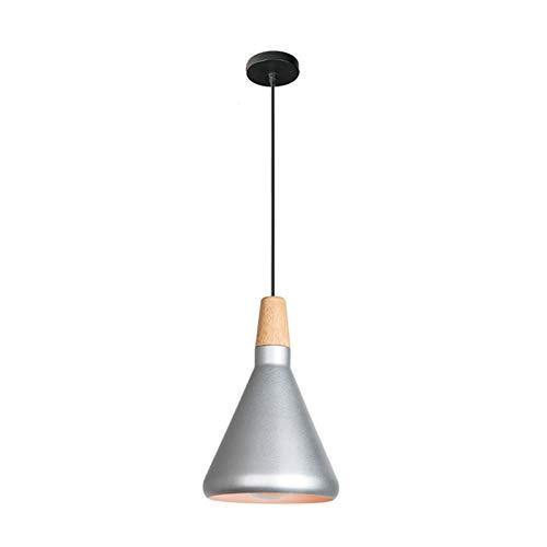 LIUYU Titular de la lámpara de iluminación Industrial de la Vendimia Pendiente de la luz de Pasillo Americanas Luces de la lámpara Retro iluminación Coffee Bar (Body Color : 2, Size : Gratis)