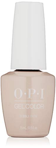 OPI gelcolor Nagellack Nail Gel ,Bubble Bath, 1er Pack (1 x 15 ml)