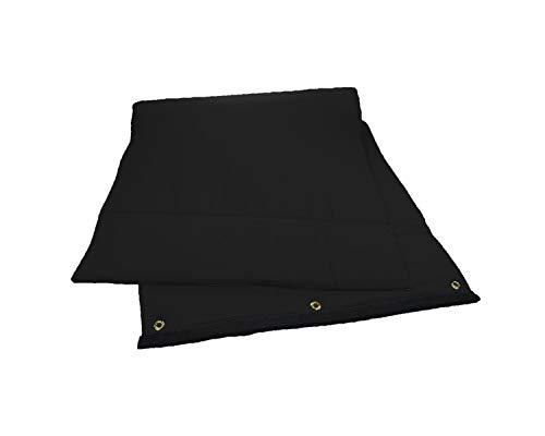 Audimute isolé - Sound Barrier and Absorption Sheet - Sound Blocker - Soundproofing Sheet (Black)