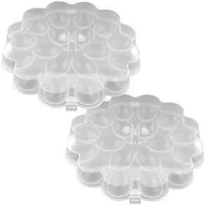 Set of 2 Egg Trays with Snap that Eggs Holds Lids On 36 Washington Topics on TV Mall
