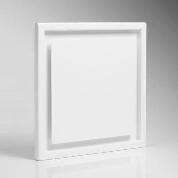 """Design-Ventil, Quadratisches Lüftungsventil Typ\""""Eins\"""", DN 125; Zuluftventil; Abluftventil"""