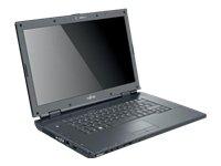 Fujitsu Amilo Li 3710 39,6 cm (15,6 Zoll) Laptop (Intel Pentium T4200 2GHz, 3GB RAM, 320GB HDD, Intel GMA 4500M, DVD +- DL RW, Windows Vista Home Premium)