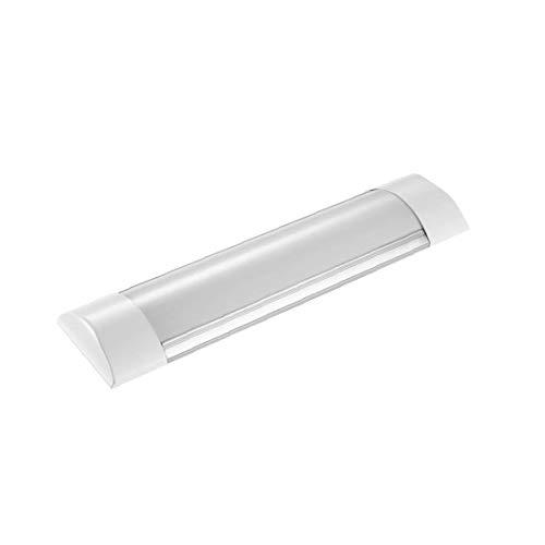 3FT 6000-6500K Daylight Batten Light LED Linear Wide Tube Ceiling Lights for Indoor Use IP20, 30Watt Cool White