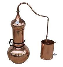 ALAMBIQUE DE Columna. 5 litros (con termómetro)