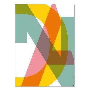 PLTY - Poster - Cut DNA - 50x70 cm