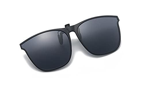 Polarizadas Clip en Gafas de Sol -Flip up-Unisex-Elegantes y cómodos Clips Gafas de sol para exterior / conducción / pesca