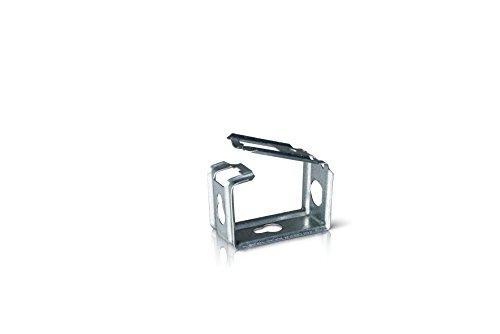 f-tronic Sammelhalter Metall mit Funktionserhalt KSM 15-50 Stück