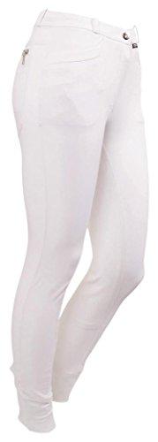 CATAGO Damen 3D-tech Reithose Vollbesatz 32/64, Damen, 3D-Tech, weiß, Size 36/72