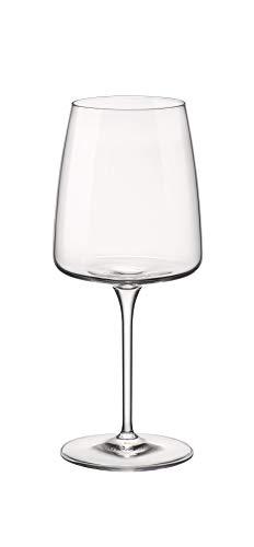 Bormioli Rocco Planeo - Set di 4 bicchieri da 432,3 g, colore: Trasparente