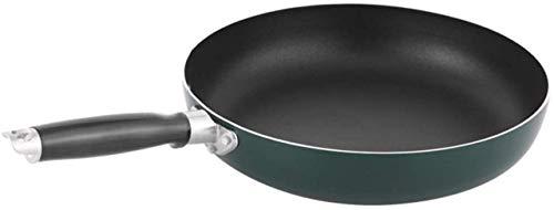 IUYJVR Sartén sartén antirrayas, sartén para Tortillas de Aluminio Fundido con Revestimiento Antiadherente, para freír con asa, Apta para lavavajillas, Ideal para Asar a la Parrilla, Cocina, campin