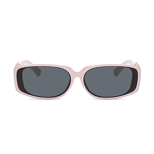 FOTBIMK Gafas de sol Mujeres Y American Metal Vintage Cadena Gafas De Sol Caminar Gafas De Sol Al Aire Libre Deportes Golf Ciclismo Pesca S