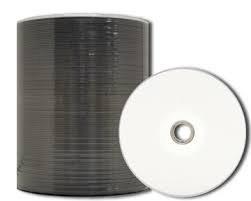 100/CD R Promedia; 52 x; 80/min; 700/MB; nucleo con inchiostro argento stampabile.