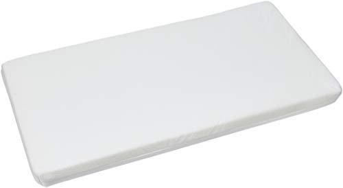 Easy dort Matelas En Bambou Pour Berceau, Blanc, 40x80 cm