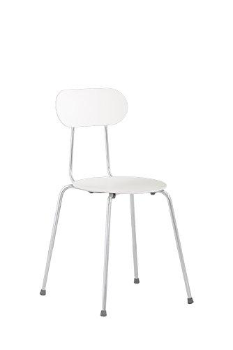 Magis Mariolina sedie, plastica, colore: bianco, 4 pezzi