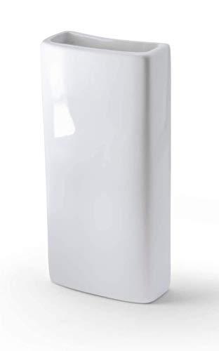 B&F Humificador para Radiador Cerámico con Colgante En Aluminio/Evaporador De Agua para Radiador/Color Blanco 18cm x 8cm (Blanco)