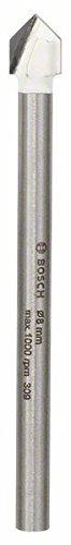 Bosch 2608587164 CYL-9 Tile Drill, 8mm x 80mm, Silver