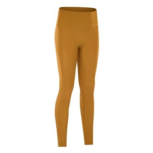 QTJY Leggings sin Costuras de Cintura Alta, Pantalones de Entrenamiento para Mujer, Pantalones de Yoga, Leggings con Push-ups, Leggings de Fitness elásticos para el Abdomen, CL