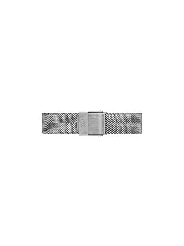 Daniel Wellington Petite Sterling, Correa Reloj Plateado, 12mm, Metálico, para Mujer
