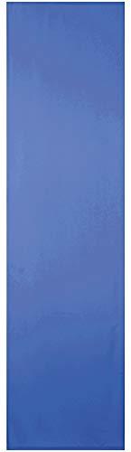 Bestlivings Blickdichter Flächenvorhang mit Zubehör (60x245 cm/Blau), in vielen Variationen