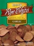 Pinahs Rye Chips , Garlic, 7 ounces