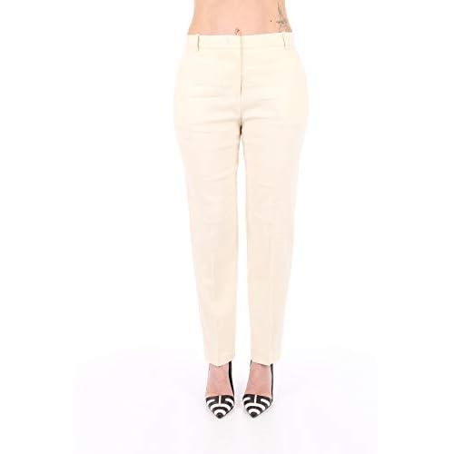 Pinko Bello 86 Pantaloni, (Bianco Cigno C00), (Taglia Unica: 46) Donna