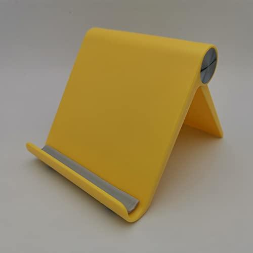 ZM amarillo más universal caramelo Accesorios del teléfono móvil portátil mini escritorio soporte mesa teléfono celular titular para iPhone Ipad Samsung xiaomi Huawei Sony
