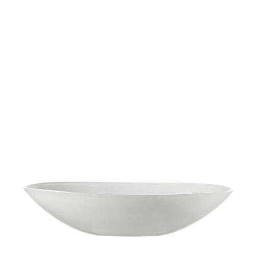 LEONARDO Schale oval 32 weiß Alabastro