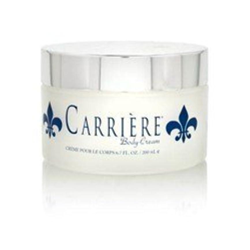 怒っている称賛懲らしめCarriere (キャリアー)  6.7 oz (200ml) Perfumed Body Cream (ボディークリーム) by Gendarme for Women