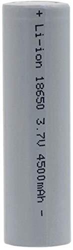 3.7V 4500mAh 18650 Batería Li Ion Litio Alto Alta Descarga de Alta Corriente baterías para linternas 1pcs