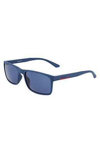 Calvin Klein CK21508S Gafas, Matte Navy, 57/18/145 para Hombre