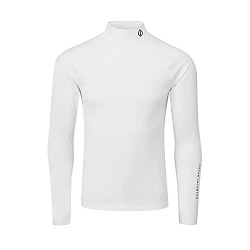 Oscar Jacobson Hombre Camiseta De Golf Capa Base Compreción Blanco 2XL