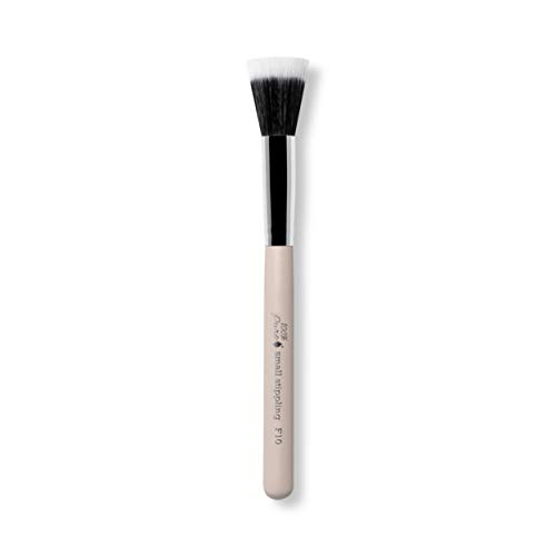100% PURE Small Stippling Brush, Cruelty Free, Soft Synthetic Makeup Brushes, Liquid, Cream, Powder Makeup