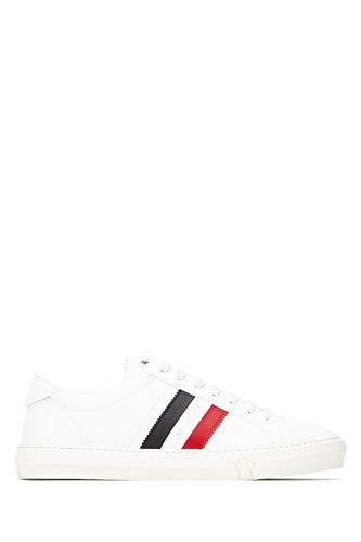 Moncler Luxury Fashion Herren 4M7144001A9A002 Weiss Leder Sneakers   Herbst Winter 20