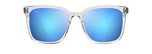 Maui Jim gafas de sol Mujer | Westside B803-11 | Montura color gris claro transparente. Lentes polarizadas Blue Hawaii