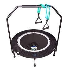 MaXimus PRO Folding Rebounder | Voted #1 Indoor Exercise Mini Trampoline For...